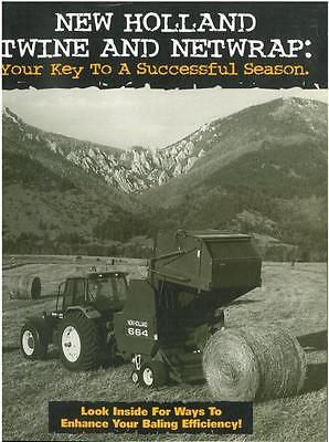 New Holland Twine And Netwrap Your Key To A Successful Season Brochure