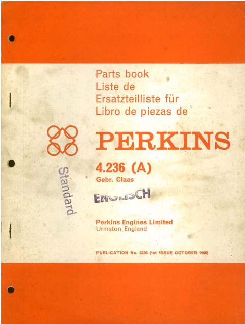 perkins diesel engine 4 236 parts manual