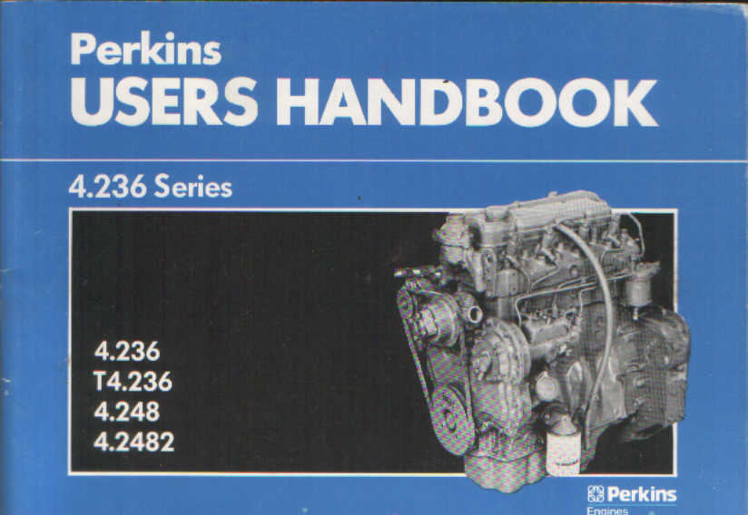 Perkins Diesel Engine 4 236 T4 236 4 248 4 2482 Operators