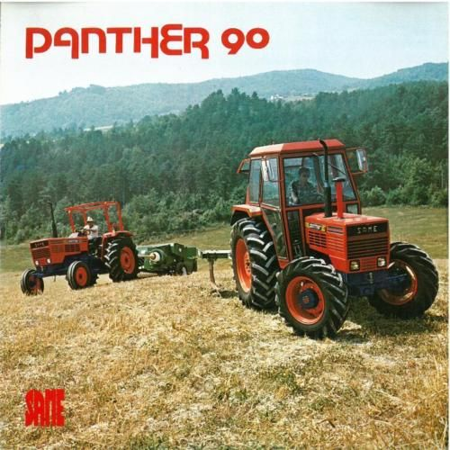 Same Tractor 90 : Same tractor panther brochure
