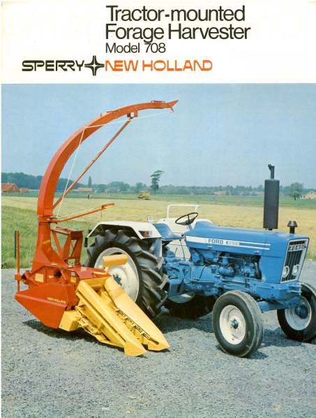 Sperry New Holland 708 Forage Harvester Brochure