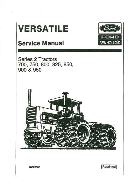 ford 800 tractor service manual pdf