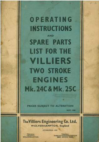 25c engine villiers manual