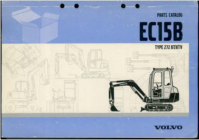 volvo excavator ec15b parts manual Standard Operating Manual Owner's Manual