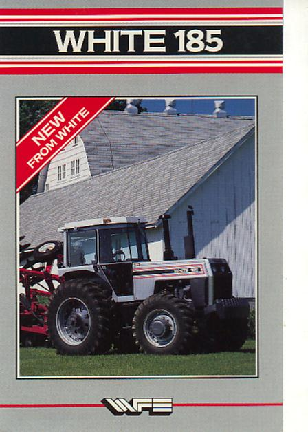 white 185 tractor brochure