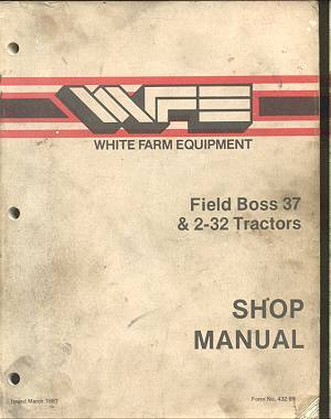 White (Iseki) 37, 2-32 Tractor Service Workshop Manual